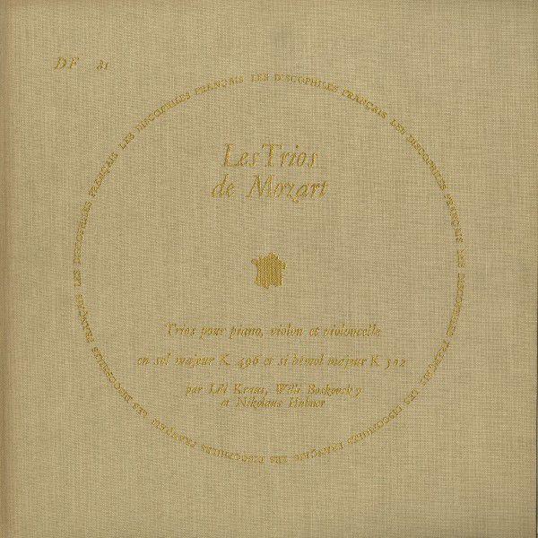 <中古LPレコード>モーツァルト:Pfトリオ(全7曲)/K.254,442,496,502,542,548,564
