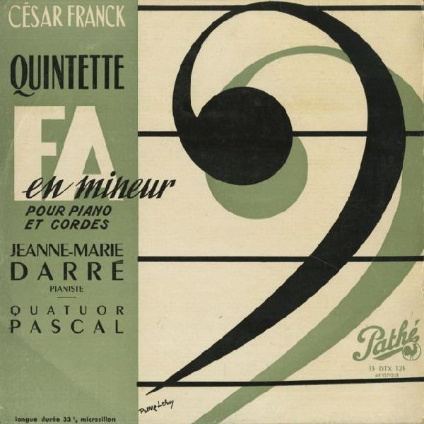 <中古LPレコード>フランク:Pf五重奏曲