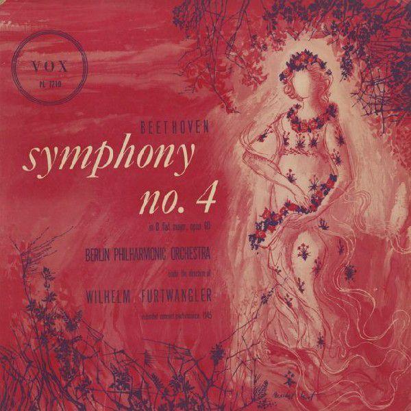 <中古LPレコード>ベートーヴェン:交響曲4番Op.60
