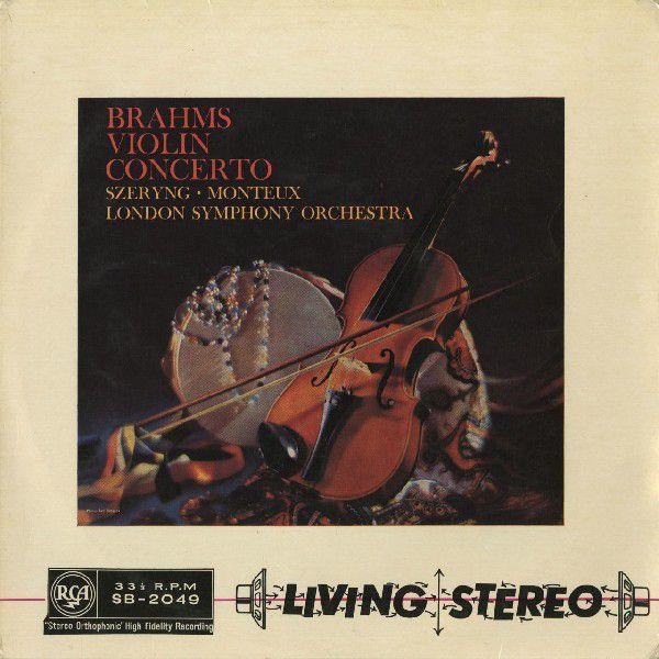 <中古LPレコード>ブラームス:Vn協奏曲Op.77