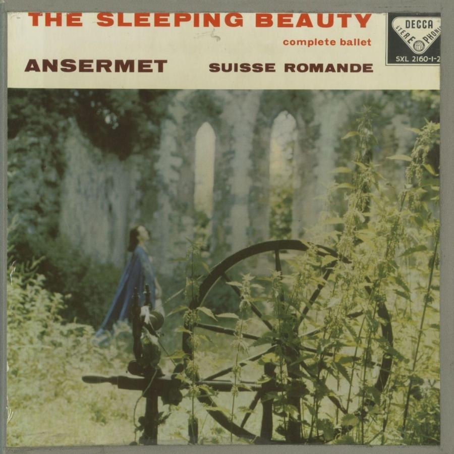 <中古クラシックLPレコード>チャイコフスキー:眠れる森の美女Op.66(全曲)/E.アンセルメ指揮スイス·ロマンドo./英DECCA:SXL 2160-2