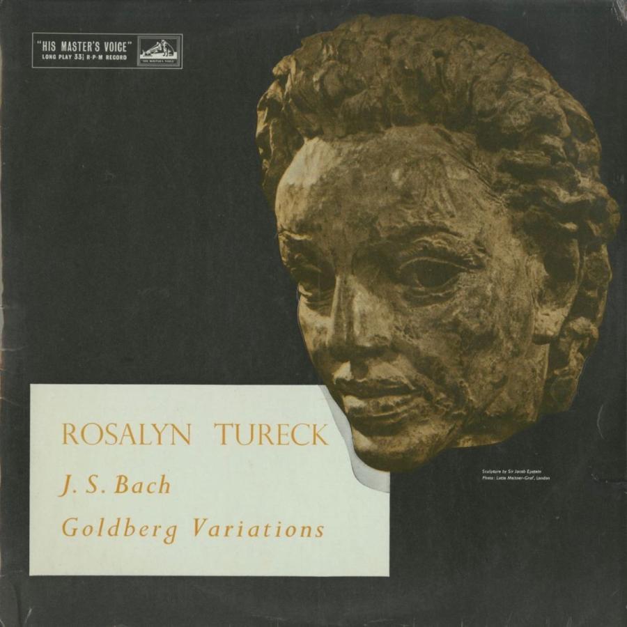 <中古クラシックLPレコード>バッハ:ゴルトベルク変奏曲BWV.988/R.テュレック(pf)/英HMV:ALP 1548-9