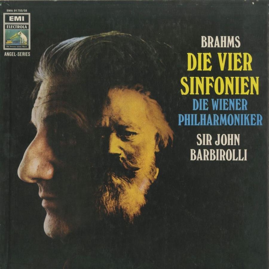 <中古クラシックLPレコード>ブラームス:交響曲全集/悲劇的序曲,ハイドン変奏曲,大学祝典序曲含む/J.バルビローリ指揮ウィーンpo.