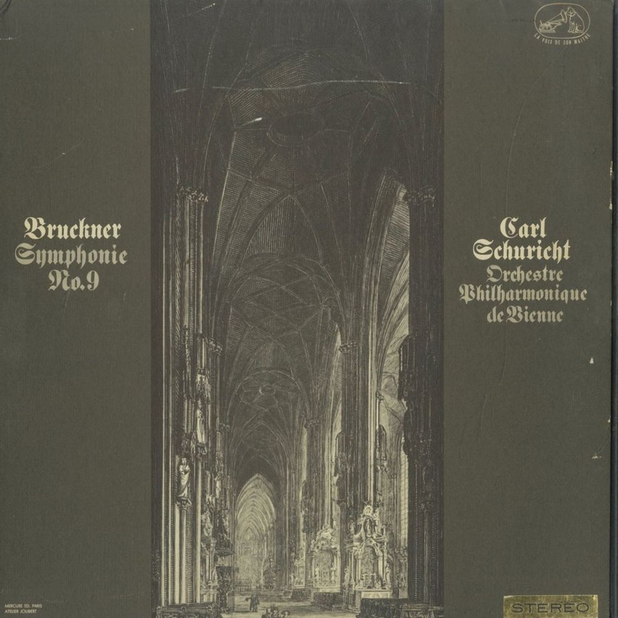 <中古クラシックLPレコード>ブルックナー:交響曲9番(原典版)/C.シューリヒト指揮ウィーンpo./仏VSM:ASDF 280