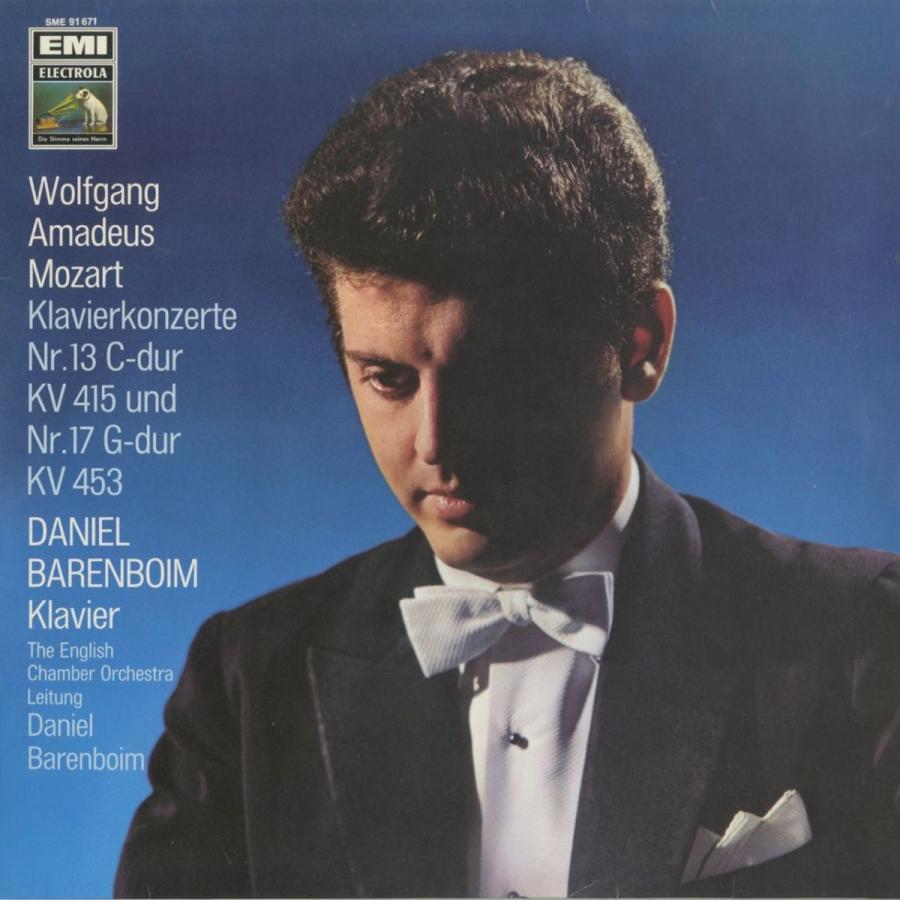 <中古クラシックLPレコード>モーツァルト:ピアノ協奏曲全集/2·3台除く全25曲,ロンドK.382/D.バレンボイム(pf)指揮イギリス室内o.