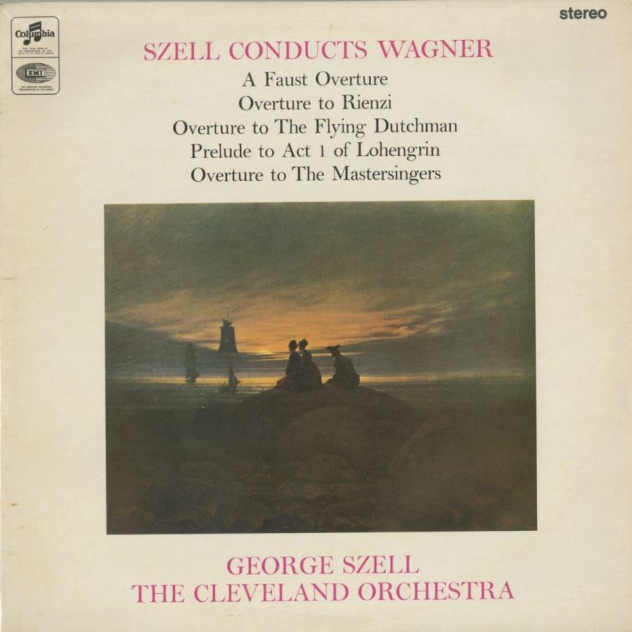 <中古クラシックLPレコード>ワーグナー:序曲·前奏曲集/G.セル指揮クリーブランドo./英COLUMBIA:SAX 5277