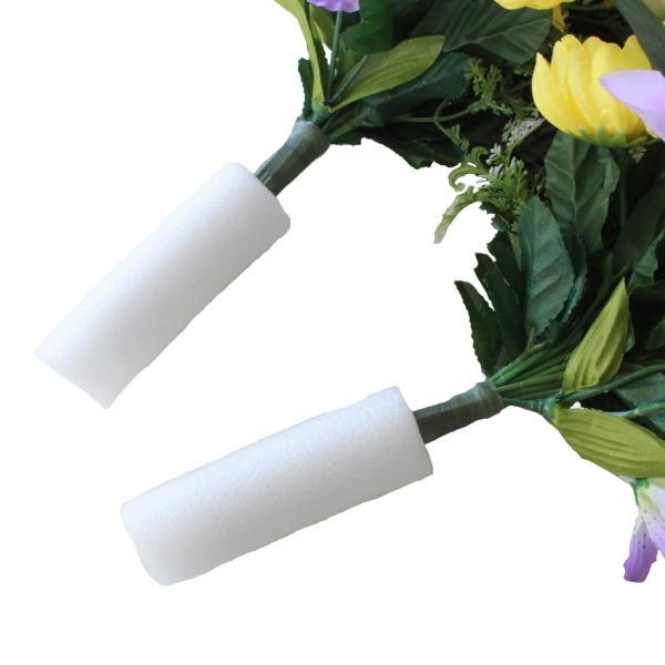 仏花用安定スポンジ ブッカバー 100%品質保証 10cm×2個セット 直径3.3cm 驚きの値段