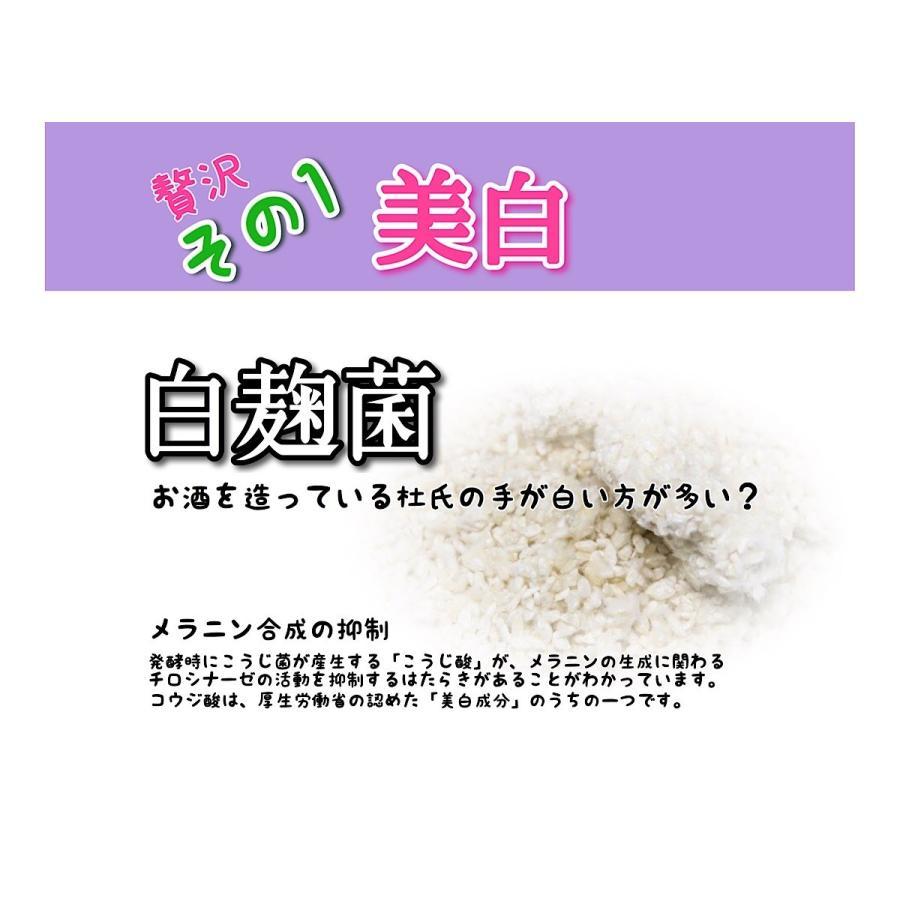 無添加せっけん 白麹せっけん silkueen-honest 05