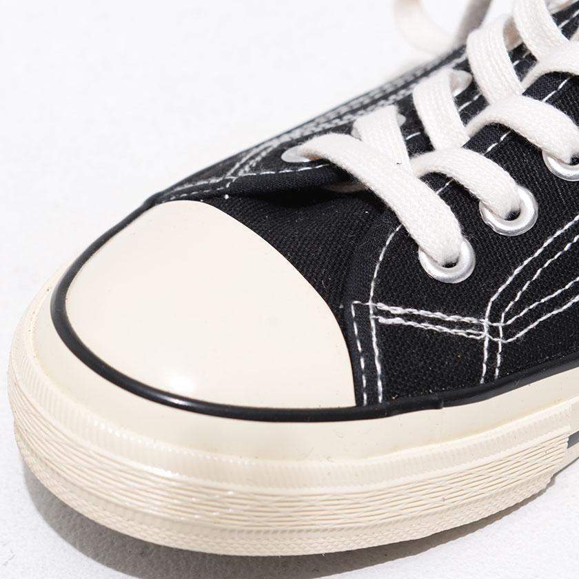 """スニーカー メンズ """"DEDES【デデス】レースアップスニーカー/全4色"""" カジュアル ローカット 定番 キャンバス ブラック ホワイト グレー 黒 白 silverbulletxfuga 09"""