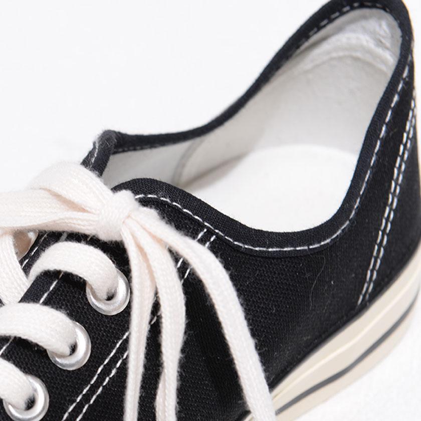 """スニーカー メンズ """"DEDES【デデス】レースアップスニーカー/全4色"""" カジュアル ローカット 定番 キャンバス ブラック ホワイト グレー 黒 白 silverbulletxfuga 10"""
