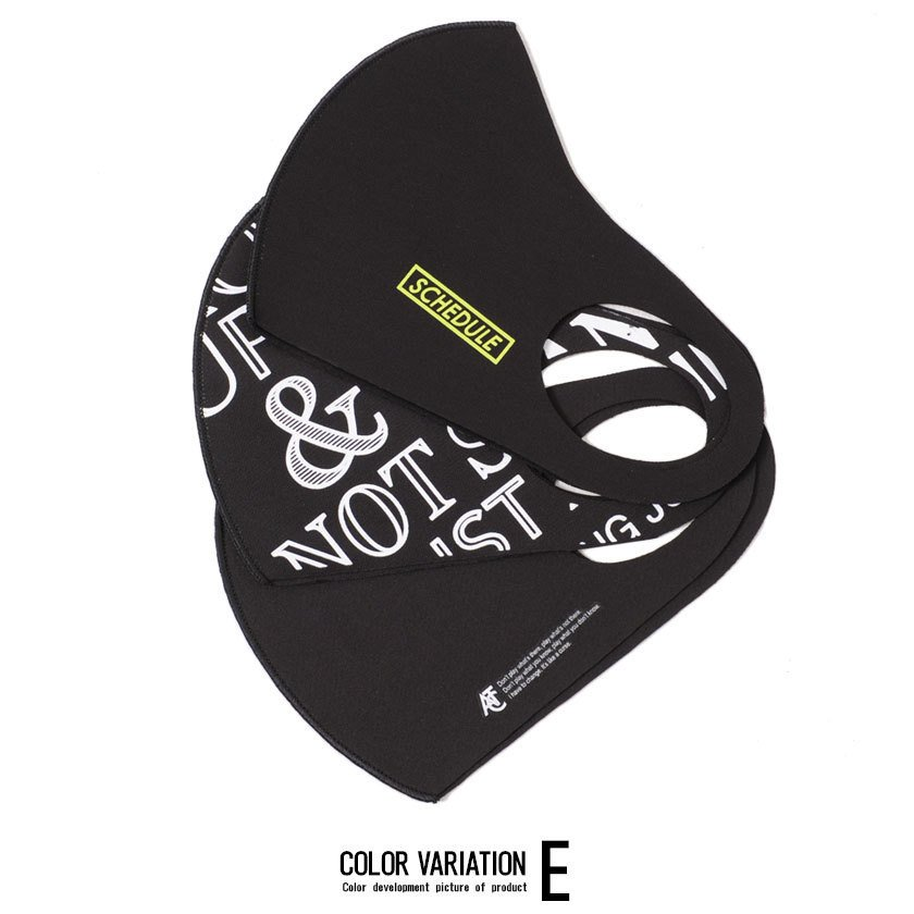 """"""" マスク 洗える メンズ 3枚入り SB select 3Pファッションマスク (返品・交換対象外商品) おしゃれ 総柄 花柄 迷彩柄 カモフラージュ柄 """" silverbulletxfuga 06"""
