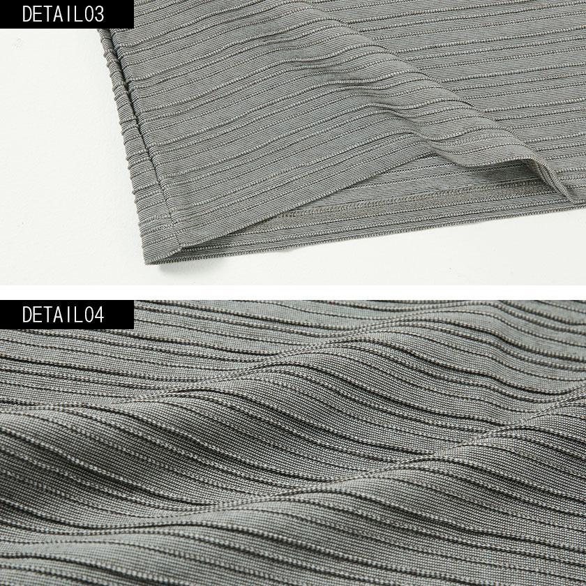 """半袖Tシャツ メンズ Vネック """"VICCI【ビッチ】タックジャガードVネック半袖Tシャツ/全6色""""無地 M L XL ストレッチ 白 黒 ネイビー ピンク ネイビー グレー silverbulletxfuga 18"""