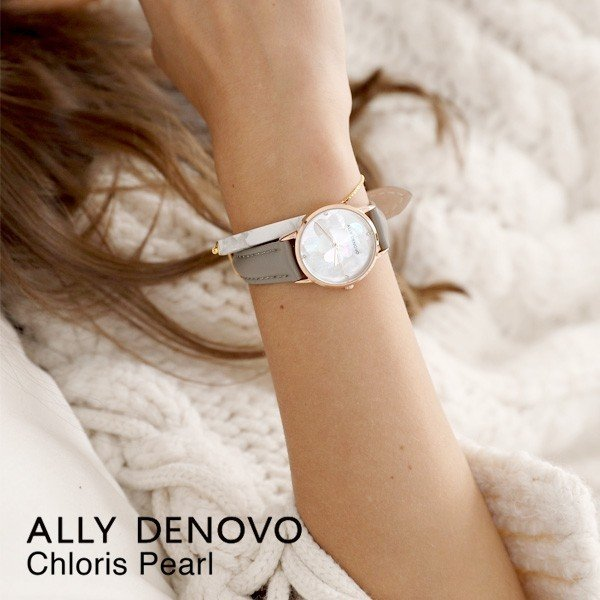 ALLY DENOVO アリーデノヴォ 腕時計 レディース クロリスパール Chloris Pearl 28mm sincere-inc 09