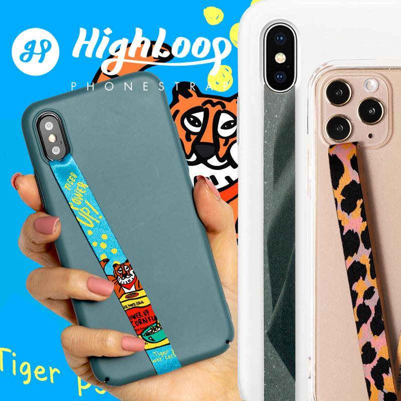 スマホ 落下防止 ストラップ バンド HighLoop ハイループ フォンストラップ iPhone android 携帯 おしゃれ 片手 韓国 メール便OK sincere-inc