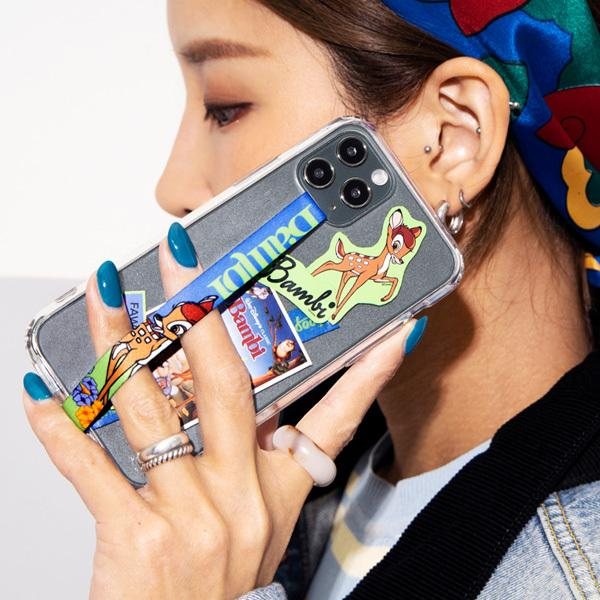 スマホ 落下防止 ストラップ バンド Disney ディズニー HighLoop ハイループ iPhone 携帯 おしゃれ 片手 韓国 ミッキー トイストーリー メール便OK sincere-inc 07