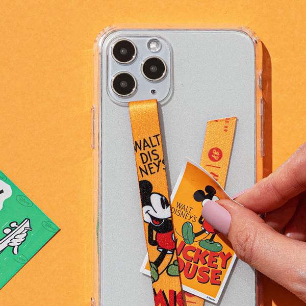 スマホ 落下防止 ストラップ バンド Disney ディズニー HighLoop ハイループ iPhone 携帯 おしゃれ 片手 韓国 ミッキー トイストーリー メール便OK sincere-inc 09