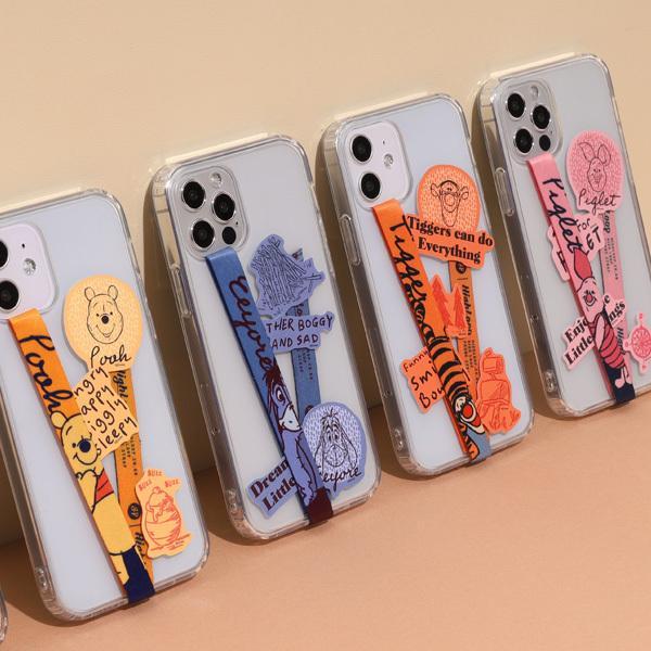 スマホ 落下防止 ストラップ バンド Disney ディズニー HighLoop ハイループ iPhone 携帯 おしゃれ 片手 韓国 ミッキー トイストーリー メール便OK sincere-inc 10