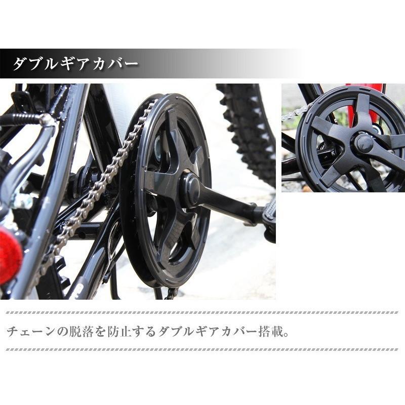 本州送料無料 ライト カギ付き フルサスペンション 折りたたみ自転車 軽量 20インチ シマノ製6段ギア MTB マウンテンバイク 街乗り AIJYU AJ-01|sincere-store|10