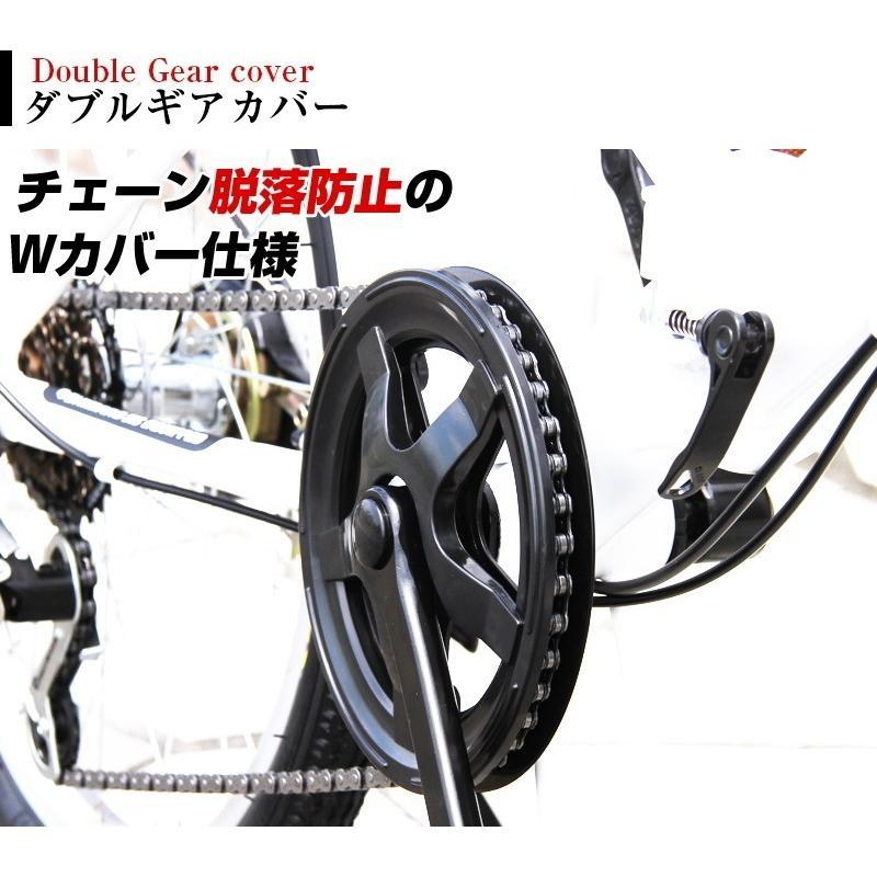本州送料無料 20インチ 折りたたみ自転車 シマノ6段変速 AIJYU AJ-08 おすすめ 人気 軽量 安い オススメ sincere-store 05