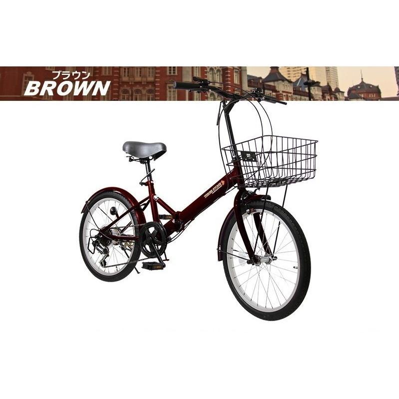 本州送料無料 20インチ 折りたたみ自転車 シマノ6段変速 AIJYU AJ-08 おすすめ 人気 軽量 安い オススメ sincere-store 09