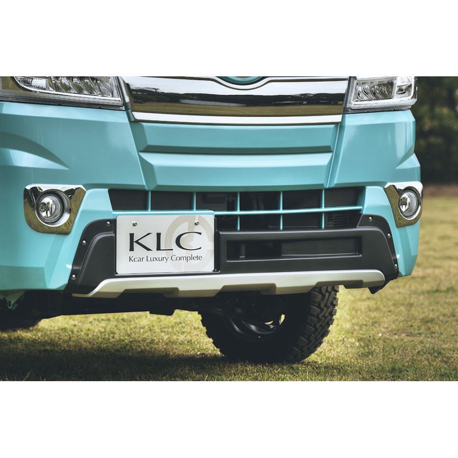 ケイエルシー ハイゼット トラック ジャンボ S500P S510P フロントアンダーガード 未塗装 KLC OFFBEAT オフビート|sincere-y
