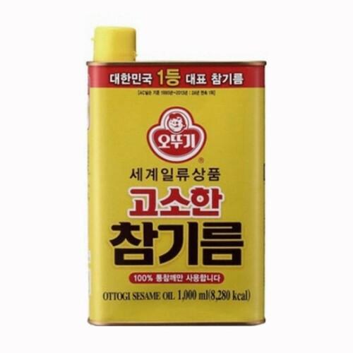 オトギ オットギ ごま油 1000ml缶 韓国調味料 定番から日本未入荷 送料無料 公式サイト 韓国産ごま油