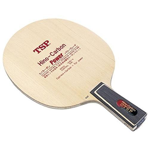 ティーエスピー(TSP) 卓球 中国式ペンラケット ヒノカーボン・パワー CHN 021223