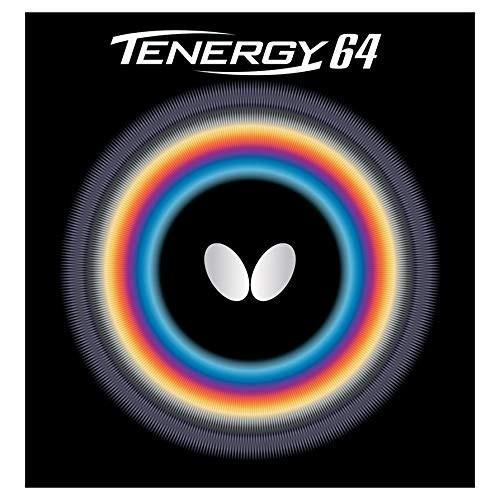 バタフライ(Butterfly) 卓球 ラバー テナジー・64 裏ソフト テンション (スピン) 05820 ブラック