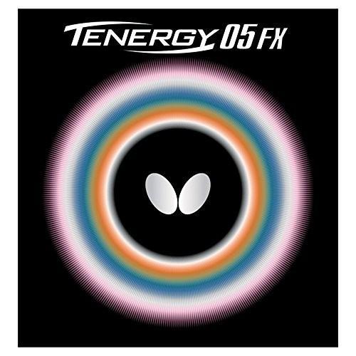 バタフライ(Butterfly) 卓球 ラバー テナジー・05・FX 裏ソフト テンション (スピン) 05900 レッド