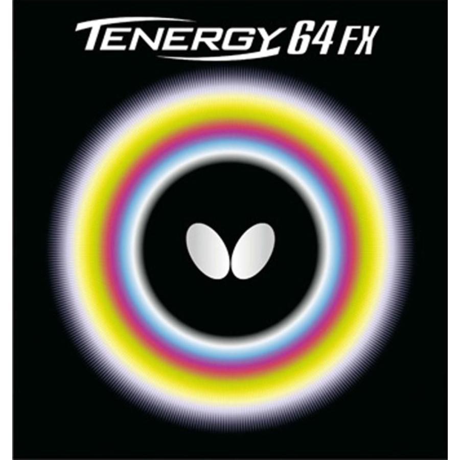 バタフライ(Butterfly) 卓球 ラバー テナジー・64・FX 裏ソフト テンション (スピン) 05920 レッド