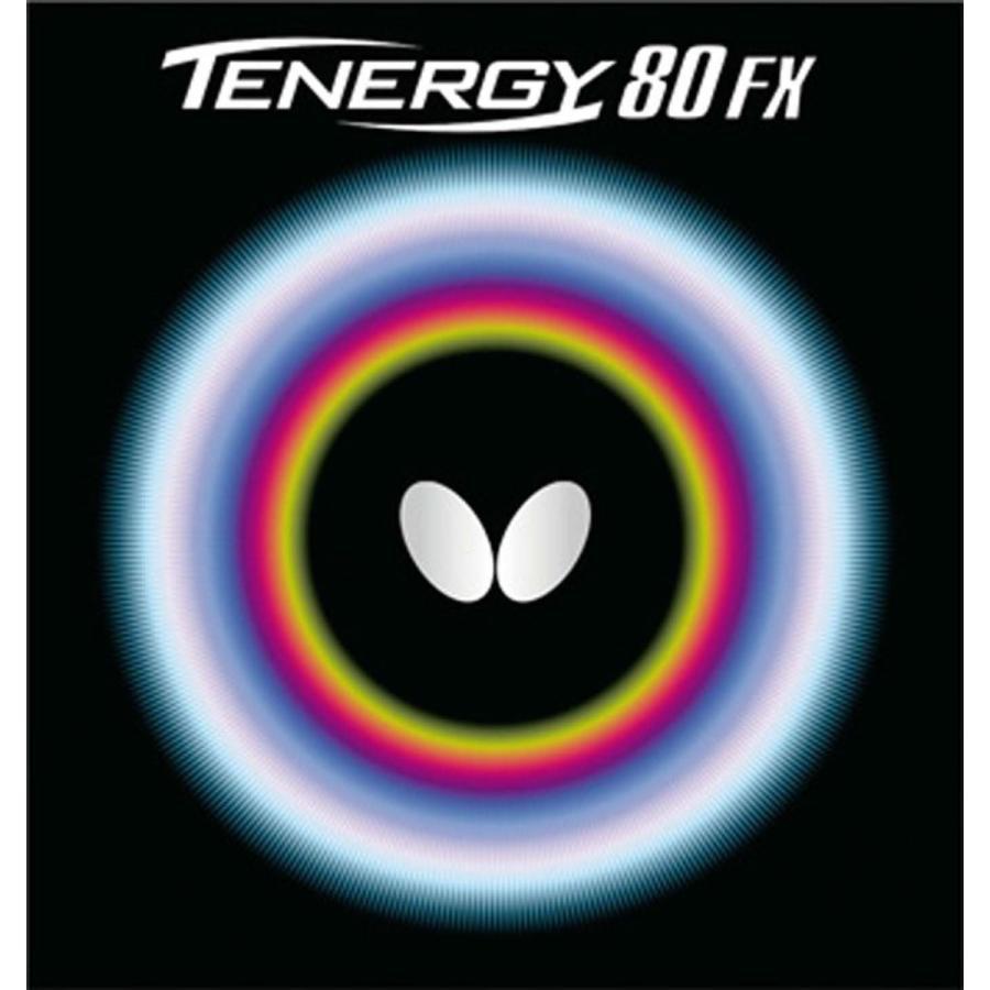 バタフライ(Butterfly) 卓球 ラバー テナジー・80・FX 裏ソフト テンション (スピン) 05940 ブラック