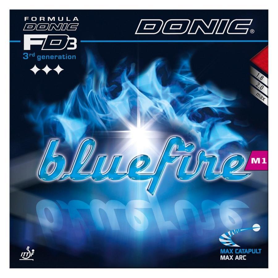DONIC(ドニック) 卓球 ブルーファイア M1 裏ソフトラバー レッド AL063