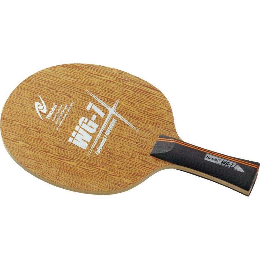 ニッタク(Nittaku) 卓球 ラケット WG7 シェークハンド 攻撃用 7枚合板 NE-6129
