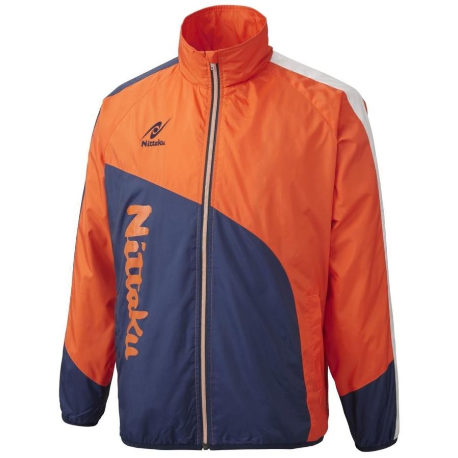 ニッタク(Nittaku) 男女兼用 卓球 ウェア ライトウォーマーCUR シャツ NW-2840 オレンジ(64)