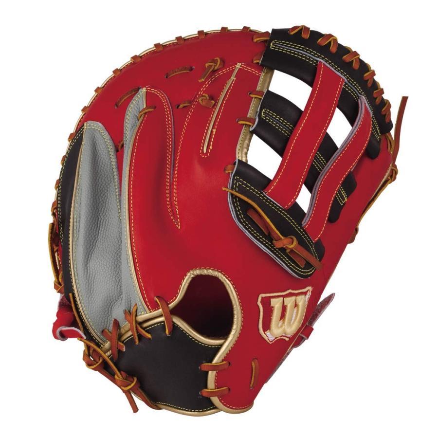 Wilson(ウイルソン) 野球 グラブ(グローブ) 軟式 用 The Wannabe Hero(ワナビーヒーロー) 一塁手用 36型(親指の力が伝