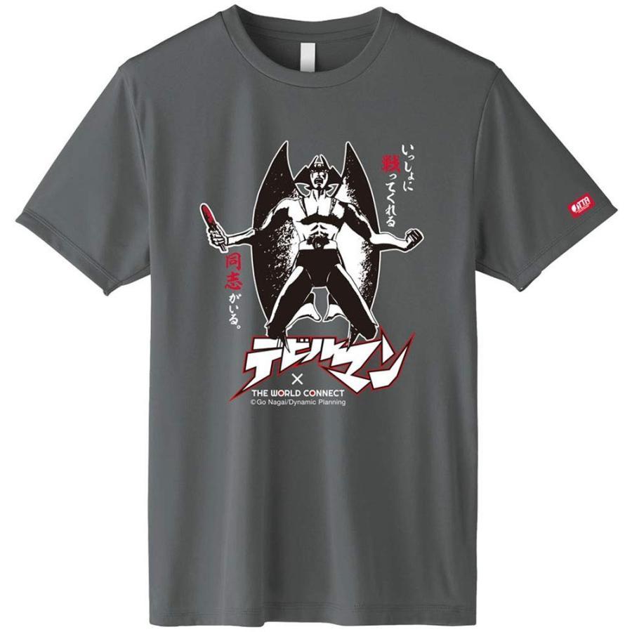ザ・ワールドコネクト(TWC) 卓球 Tシャツ TWC デビルマンシャツC ダークグレー GV007