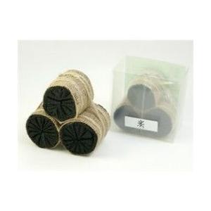 炭俵(炭たわら)インテリア黒炭 中サイズ|sizen