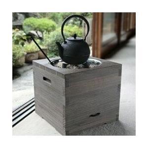 火鉢 桐の箱 sizen