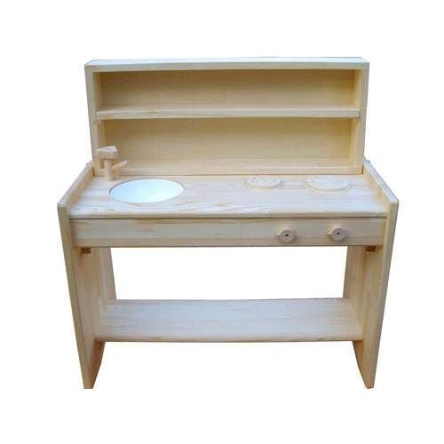 木遊舎 おままごとキッチン(白木)|sizen