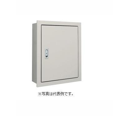 河村電器 屋内用 盤用キャビネット(鉄製基板・埋込形) FXU4040-16ベージュ