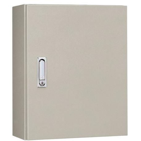 日東工業 RA16-34C RA形制御盤キャビネット 深さ160mm 水切構造 防塵・防水パッキン付 鉄製基板付