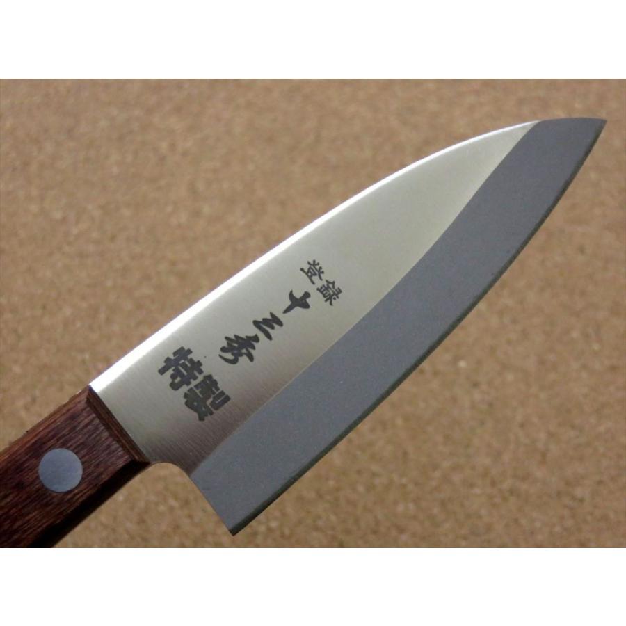 関の刃物 小出刃包丁 9.5cm (95mm) 十三秀 特製 6A モリブデンステンレス 魚の身を細かくおろす 右利き用 片刃包丁 日本製|sk2excellent|04