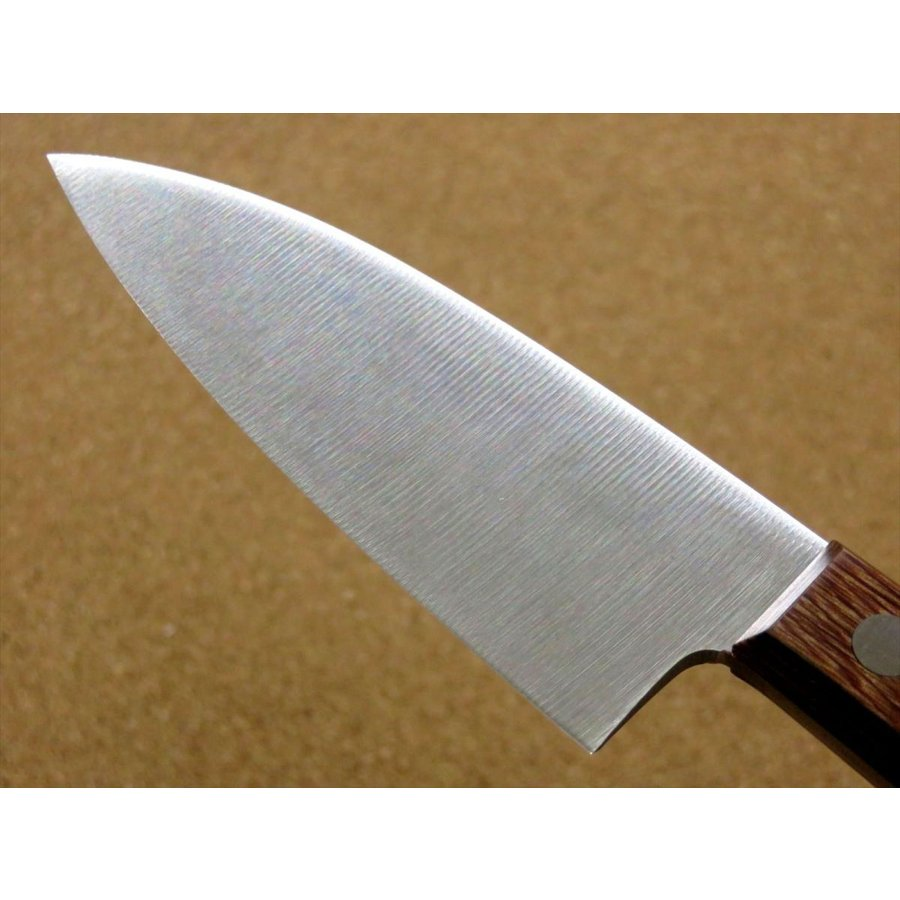 関の刃物 小出刃包丁 9.5cm (95mm) 十三秀 特製 6A モリブデンステンレス 魚の身を細かくおろす 右利き用 片刃包丁 日本製|sk2excellent|05