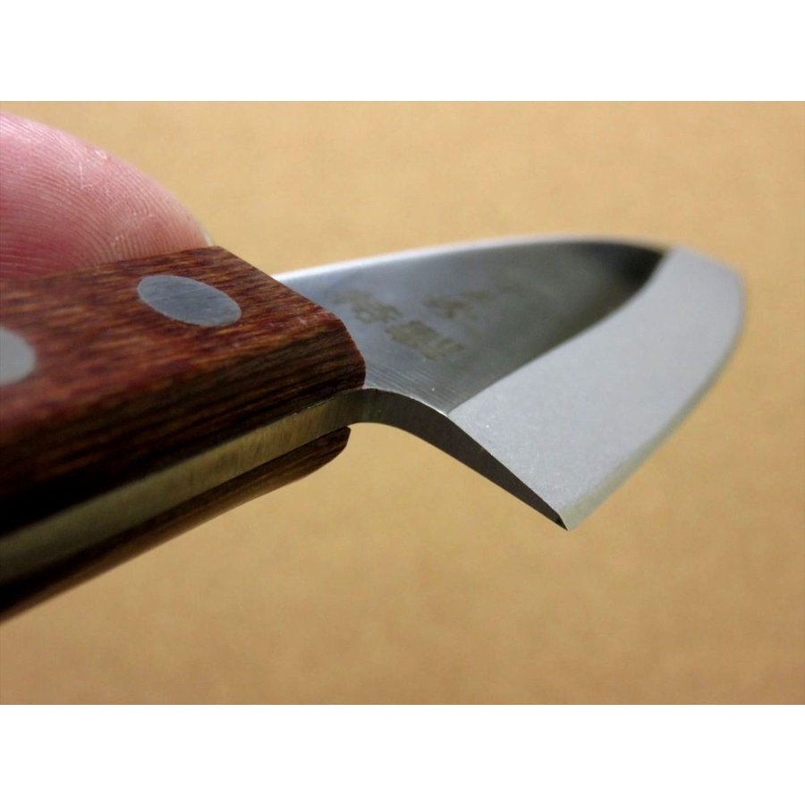関の刃物 小出刃包丁 9.5cm (95mm) 十三秀 特製 6A モリブデンステンレス 魚の身を細かくおろす 右利き用 片刃包丁 日本製|sk2excellent|06