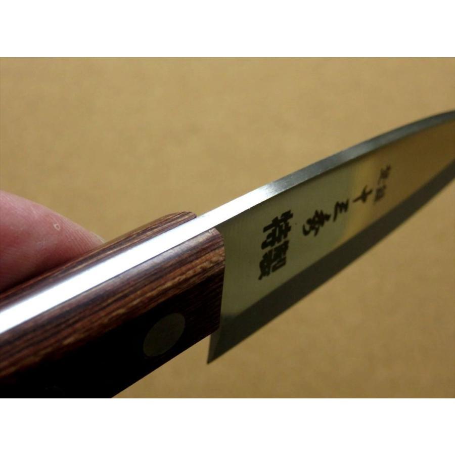関の刃物 小出刃包丁 9.5cm (95mm) 十三秀 特製 6A モリブデンステンレス 魚の身を細かくおろす 右利き用 片刃包丁 日本製|sk2excellent|08
