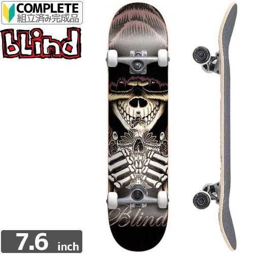 スケボー コンプリート ブラインド BLIND スケートボード SILVER CROSS COMPLETE 7.6 x 31.6 NO73