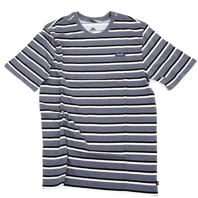 NIKE SB ナイキ Tシャツ  JDI STRIPE TEE ボーダー NO50数量限定!特売