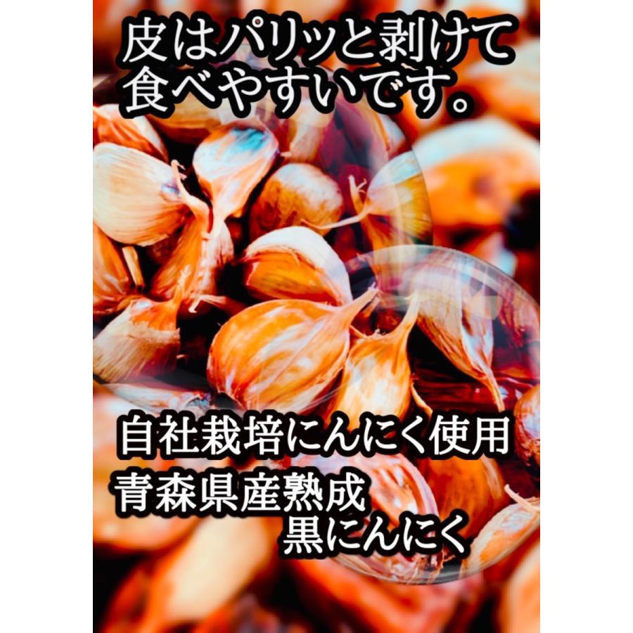 青森県産 熟成 黒にんにく お試しパック 2週間分 送料無料 ワンコイン|skgm412|02