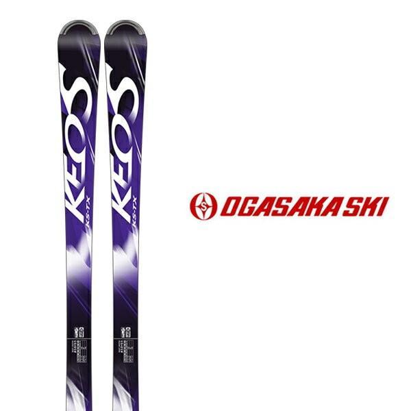 オガサカ スキー板 OGASAKA【2018-19モデル】KEO'S KS-TX/PU + TYROLIA SLR 10 GW