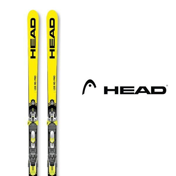 ヘッド スキー板 HEAD【2019-20モデル試乗板】WC REBELS IGS RD PRO 黄 + FREEFLEX EVO 16